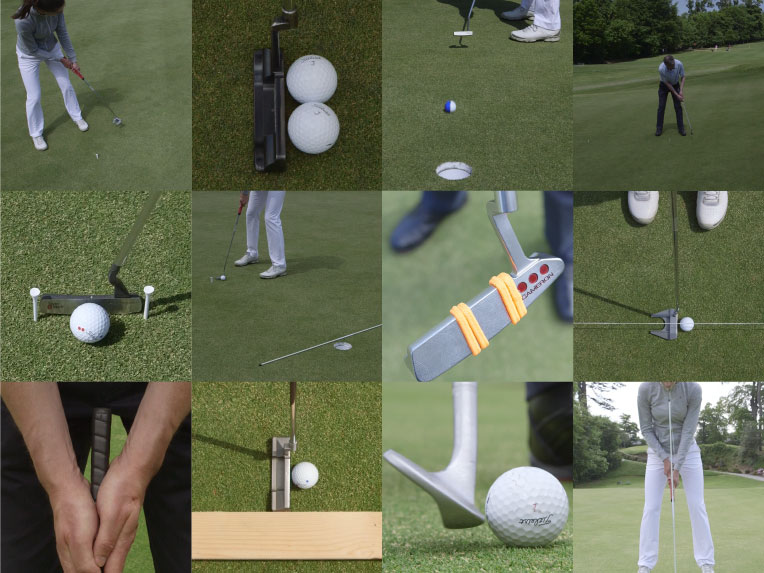 An example of some drills suggested by Hole More Putts